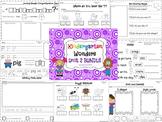 Wonders Reading for Kindergarten: Unit 2 BUNDLE Extension Activities