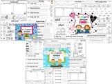 Wonders Reading for Kindergarten: Unit 3 BUNDLE Extension Activities