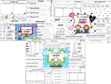 Wonders Reading for Kindergarten: Unit 3 BUNDLE Extension