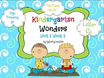 Wonders Reading for Kindergarten: Unit 3 Week 3 Extension Activities