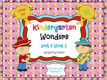 Wonders Reading for Kindergarten: Unit 4 Week 2 Extension Activities