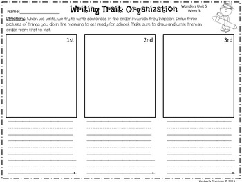 Wonders Reading for Kindergarten: Unit 5 Week 3 Extension Activities