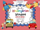 Wonders Reading for Kindergarten: Unit 8 Week 1 Extension Activities