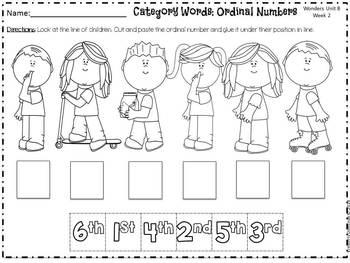 Wonders Reading for Kindergarten: Unit 8 Week 2 Extension Activities