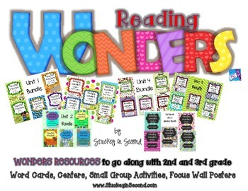 Reading Wonders 2nd and 3rd Grade