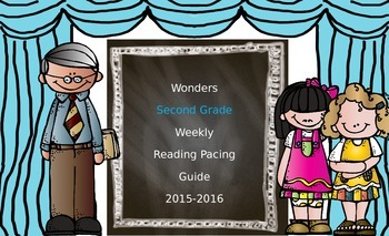 Wonders Second Grade Pacing Guide