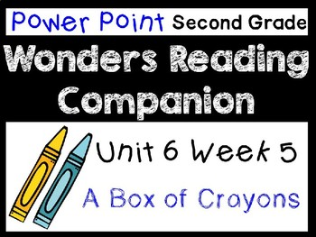 Wonders Second Grade Power Point Unit 6 Week 5. A Box of Crayons