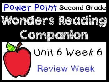 Wonders Second Grade Power Point Unit 6 Week 6. Review Week.