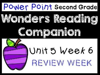 Wonders Second Grade Power Points Unit 5 Week 6 Review Week