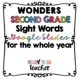 Wonders Second Grade Sight Words