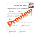 "Wonders, Second Grade, Unit 1, Week 5 Study Guide - ""Famil"