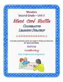 Wonders Second Grade Unit 3 Silent Card Shuffle Cooperative Learning Activities