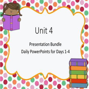 Wonders Second Grade Unit 4 Presentations