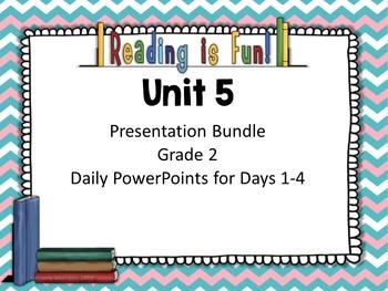 Wonders Second Grade Unit 5 Presentations