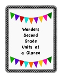 Wonders Second Grade Units at a Glance