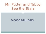 Wonders Second Grade Vocab PPT Unit 3 Week 2 Mr Putter and Tabby See the Stars