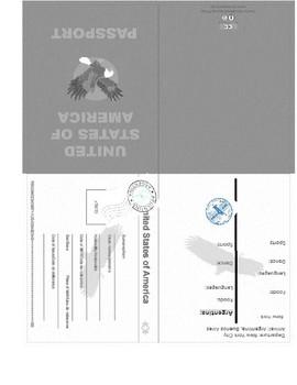 Wonders Series-5th Grade Reluctant Traveler Passport Activity