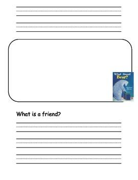 Wonders Series Kindergarten Readers Response