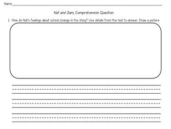1st Grade Wonders Written Comprehension Tests Unit 1-6