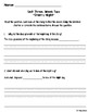 Wonders Shared Read Comprehension Questions - Grade 2, Unit 3