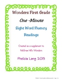 Wonders Sight Word Fluency Unit 3