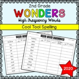 Wonders Sight Words: Cool Tool Spelling - Second Grade