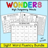 Wonders Sight Words - Fluency BUNDLE - First Grade