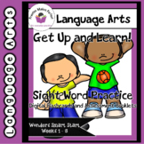 FREE Wonders Smart Start Get Up and Learn Sight Word Practice and Assessment