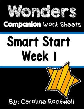 Wonders Smart Start Week 1 Worksheets/Centers Three Billy Goats Gruff