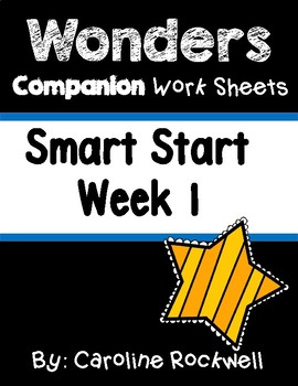 Wonders Smart Start Week 1 Worksheets/Centers Three Billy