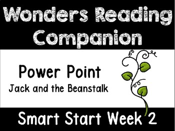 Wonders Smart Start Week 2 Interactive Power Point Jack and the Beanstalk