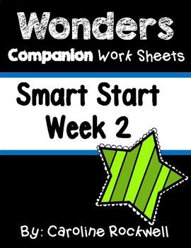 Wonders Smart Start Week 2 Worksheets/Centers Jack and the
