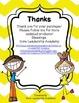 Wonders Spelling Assessment Choices Unit 1  Week  4