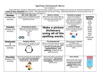 McGraw Hill Wonders Spelling Homework Bundle Unit 4