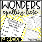Wonders Spelling Lists