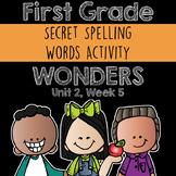 Wonders Spelling Practice: Unit 2, Week 5