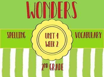 Wonders Spelling, Vocabulary, Roll & Read