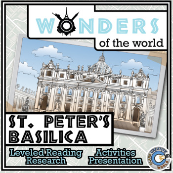 Wonders - St. Peter's Basilica Resources - Differentiated Leveled Reading & Fun