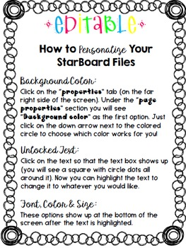 Making Words on the StarBoard 1st grade Bundle {1-6}