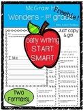 Wonders Start Smart 1st grade Daily Writing Response