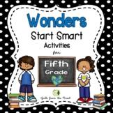 Wonders Start Smart Activities for Fifth Grade