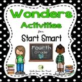 Wonders Start Smart Activities for Fourth Grade