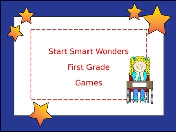 McGraw-Hill Wonders Start Smart First Grade Games