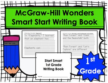 Wonders Start Smart First Grade Writing Book