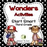 Wonders Start Smart for Third Grade