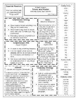 Wonders Summary Sheets Units 1-6 Grade 4