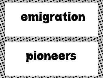 Wonders  Super Vocabulary Word Cards Unit 3 Week 5