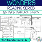 Wonders Supplemental No Prep Practice Pack {Bundle Units 1