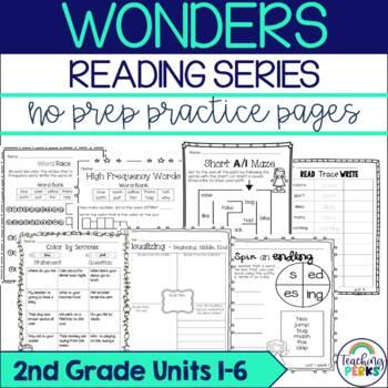 Wonders Supplemental No Prep Practice Pack {Bundle Units 1