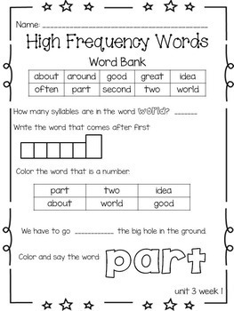 Wonders Supplemental No Prep Practice Pack {Unit 3 2nd Grade}